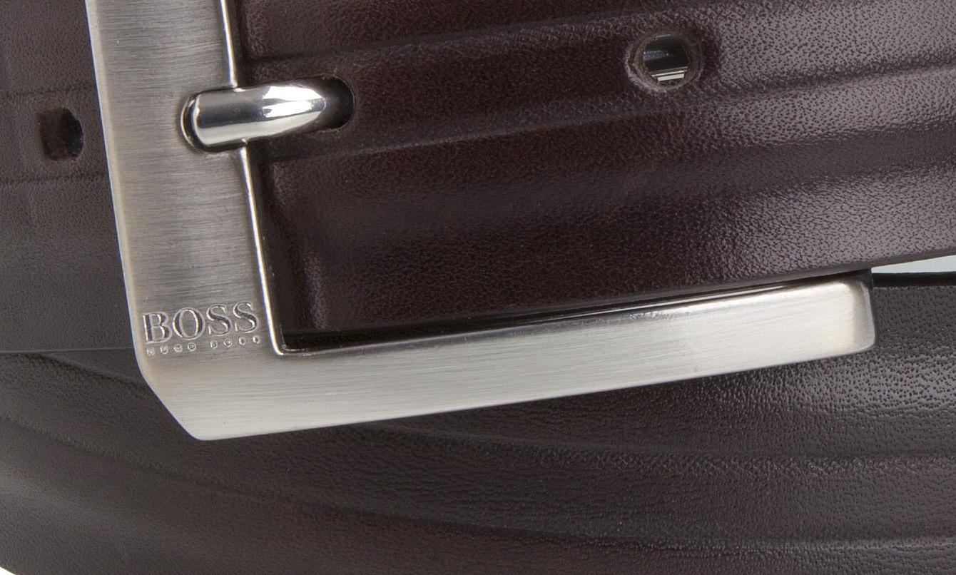 hugo boss black herren jeans g rtel braun leder leather. Black Bedroom Furniture Sets. Home Design Ideas