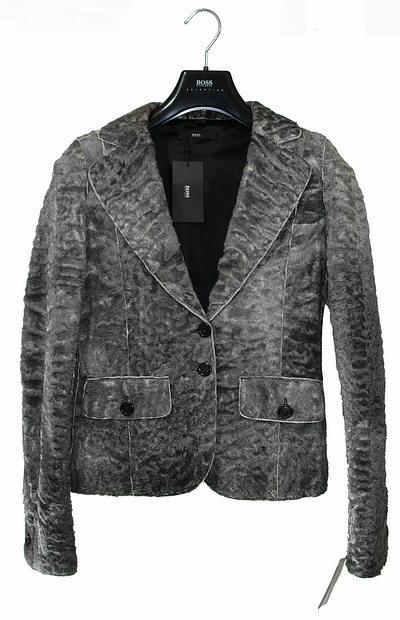 hugo boss damen jacke jacket blazer leder lederblazer felljacke m s 36 4999 neu ebay. Black Bedroom Furniture Sets. Home Design Ideas