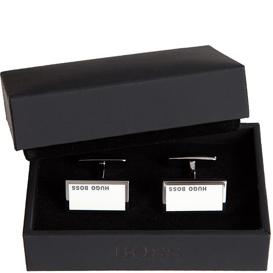 hugo boss black hemd manschettenkn pfe cufflink silber. Black Bedroom Furniture Sets. Home Design Ideas